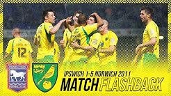 MATCH FLASHBACK | Ipswich Town 1-5 Norwich City | April 2011