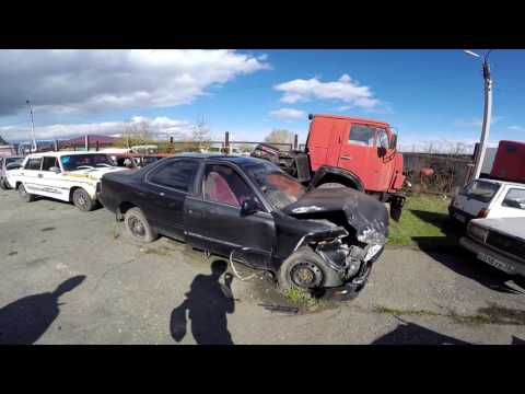 Кладбище разбитых автомобилей на Байкале!