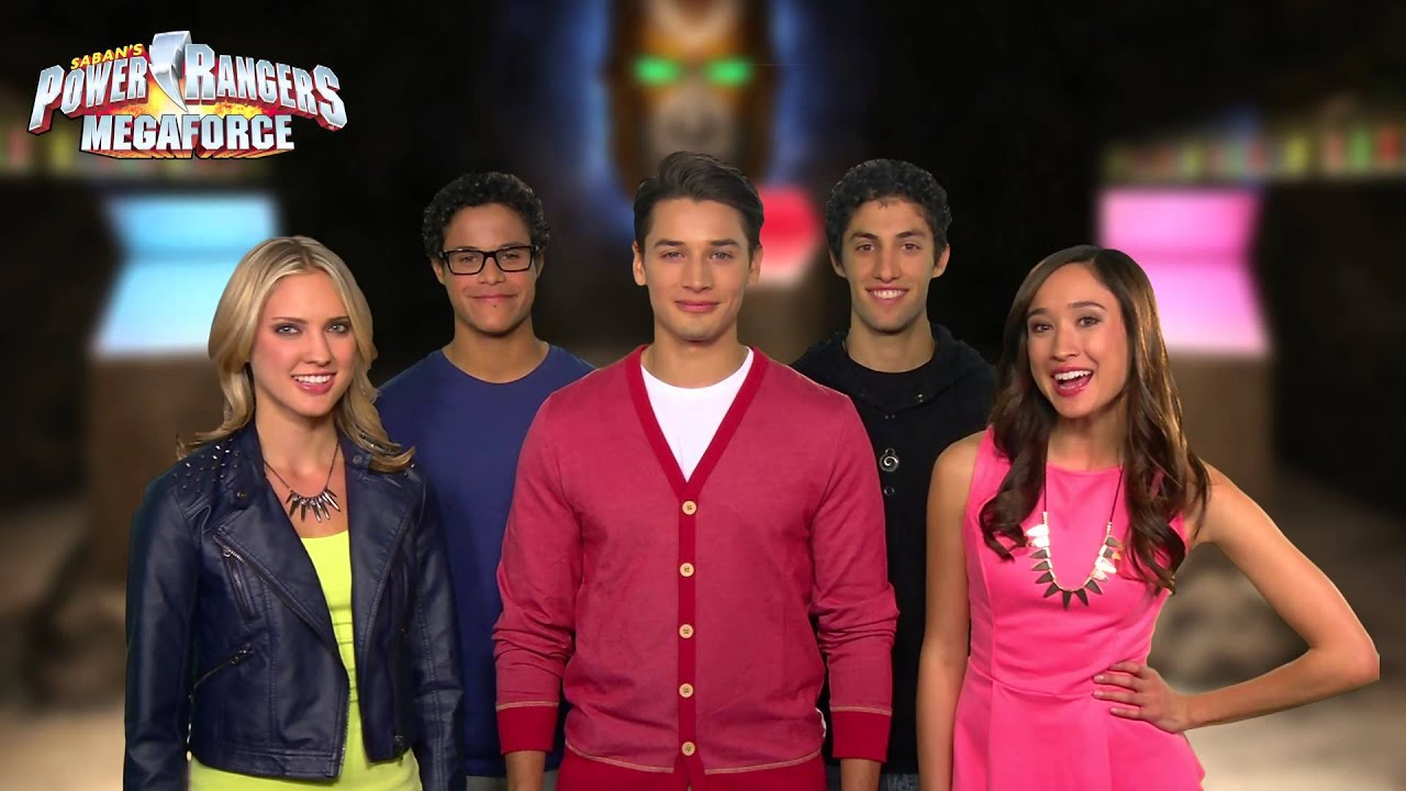 The power rangers want to power up your turkey day youtube - Moto power rangers megaforce ...