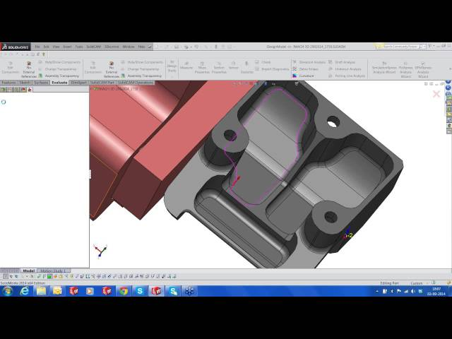 iMachining 3D , HSM & Sim 5X for an Aerospace Part