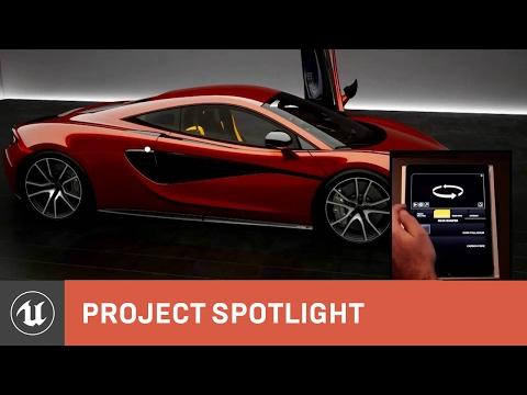 McLaren Automotive: The Design Process with Unreal Engine 4
