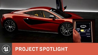 McLaren Automotive: The Design Process in UE4 | Project Highlight | Unreal Engine
