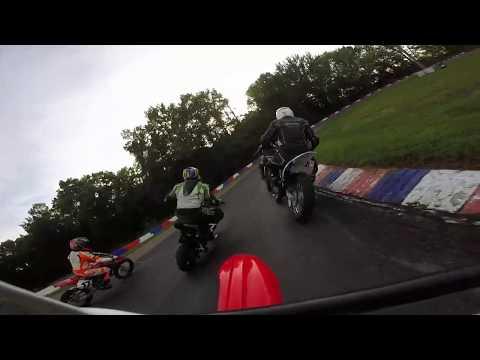 Central Illinois Mini Moto At Mid State Kart Club 8/17/19 Dash For Cash Reverse