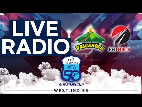🔴LIVE RADIO Windward Islands vs Trinidad & Tobago | CG Insurance Super50 Cup