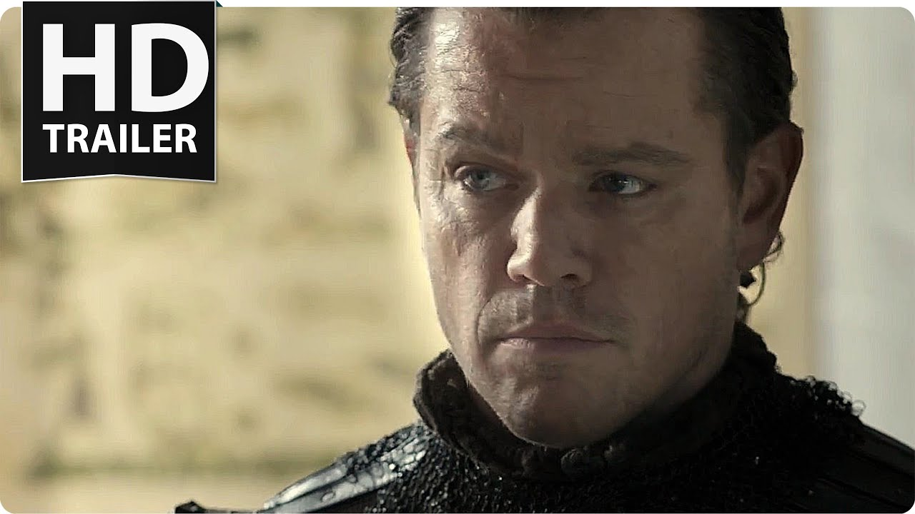 Download THE GREAT WALL Trailer 2 (2017) Matt Damon, Willem Dafoe Action Movie