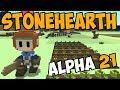 Stonehearth Alpha 21 New Stonemason Ep 2 Let 39 S Play Stonehearth Gameplay mp3