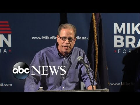 Mike Braun delivers victory speech