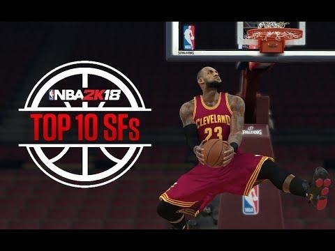 TOP 10 ALEROS EN NBA 2K18