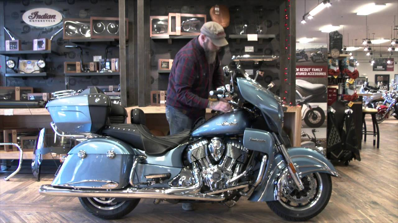 2016 indian motorcycle roadmaster with 19 accessories - youtube
