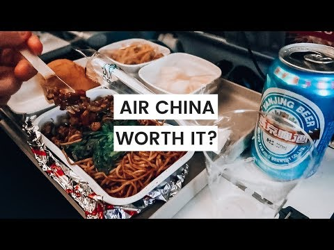 Air China Flight Review | Economy Flight Report |  2019 | Legroom, Food, Baggage, Toilets