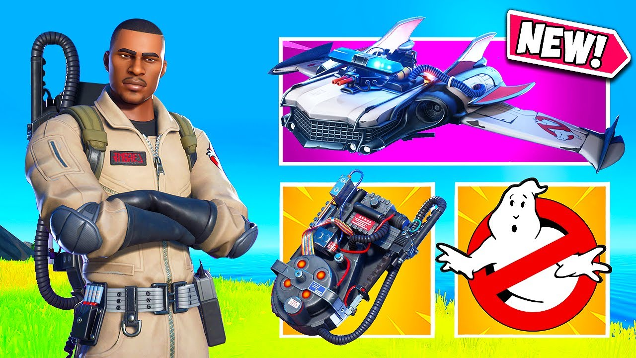 *NEW* THE GHOSTBUSTERS ARE HERE!! - Fortnite Funny Fails and WTF Moments! #1075