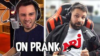 On prank NRJ en direct sur Twitch - Prank téléphonique - Les Inachevés