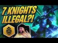7 KNIGHTS?!   THIS IS ILLEGAL! ft. Scarra   Teamfight Tactics   TFT   League of Legends Auto Chess