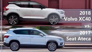 2018 volvo xc40 vs 2017 seat ateca (technical comparison)
