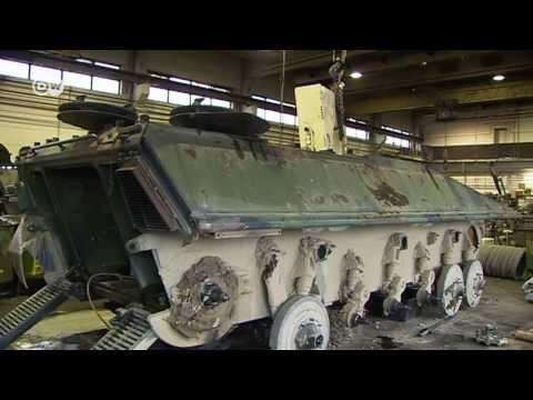 Как немецкие танки