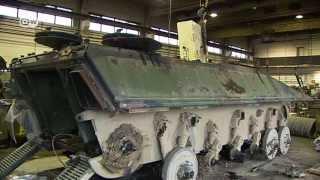 Как немецкие танки превращаются в металлолом