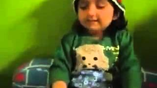 Very Funny Little Cute Baby Kid Singing A Nice Hindi Song