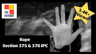 What is Rape and its Punishments under Indian Penal Code | Section 375 & 376 IPC