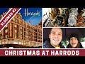 Inside HARRODS at Christmas | VLOGMAS DAY 2