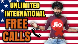 Free Unlimited international Calling not by Relaince Jio