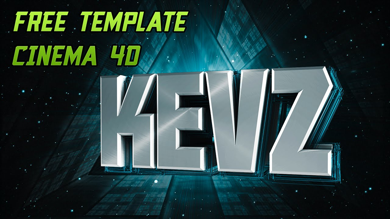 Free 3d intro template #1 | cinema 4d/after effects.