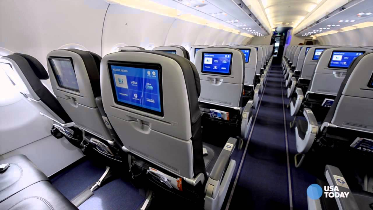Image result for jetblue cabin