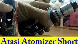 ATOMIZER SHORT    Cara Mudah Atasi Atomizer Short Pada Vape    WISMEC R2/3 REULEAUX