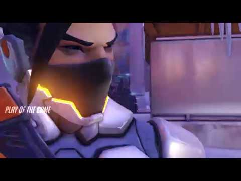 Hanzo's new profession - control point cleaner!