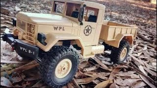 WPL WPLB-1 1/16 2.4G 4WD Off Road RC Car Unboxing + Cinematic