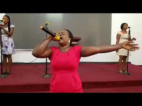😍😍😍Hahaha... Kwamena Idan With Ruth Mensah Live Worship from the Victory Bible Church International