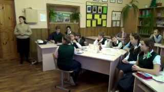 Урок Английского языка в 6 классе (уч. Лебедева)