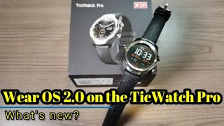 Video WearOS 2.0 on the Ticwatch Pro - What's new? download MP3, 3GP, MP4, WEBM, AVI, FLV Oktober 2018