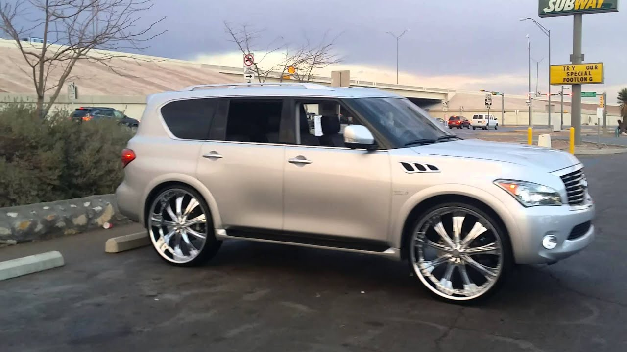 Qx56 On 30 S Turning Heads Youtube