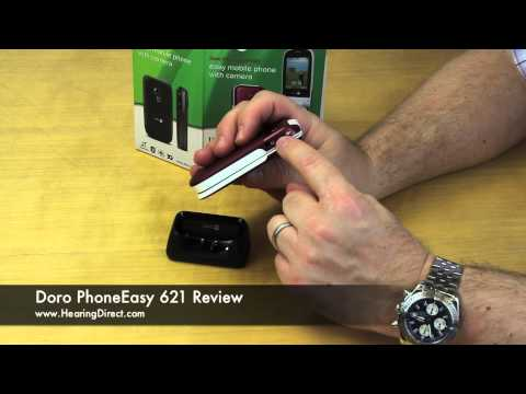 Doro PhoneEasy 621 Amplified Mobile Phone Review