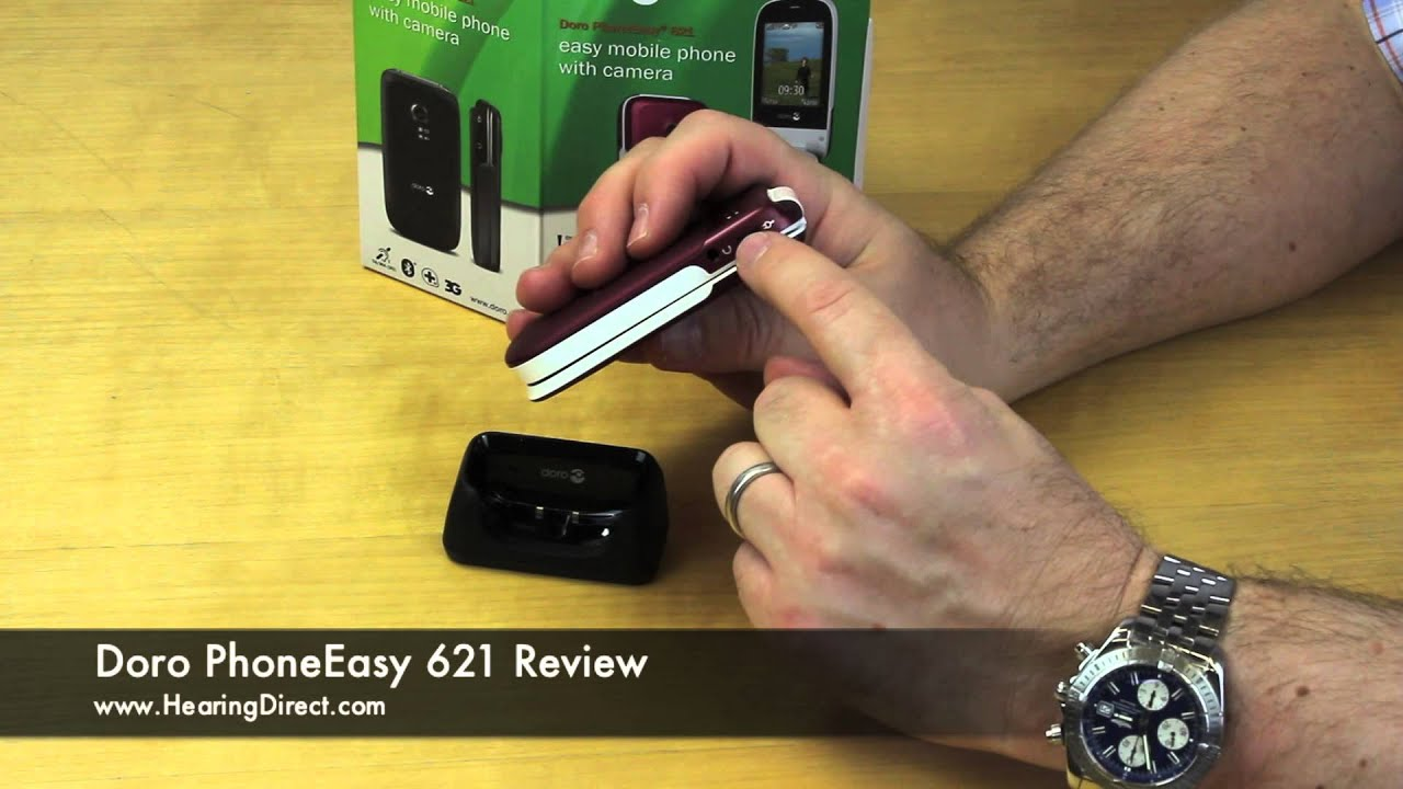 Doro Phoneeasy 621 Amplified Mobile Phone Review Youtube