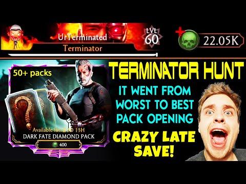 MK Mobile. HUGE Dark Fate Terminator Pack Opening For Yanni. INSANE Plot Twist! MUST SEE!