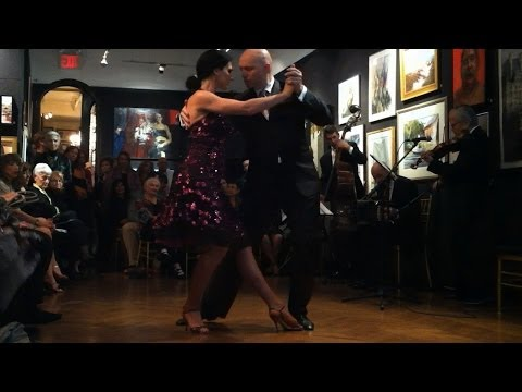 Mayte Vicens & Tioma Maloratsky -Tango - at The National Arts Club NY