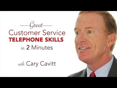 Customer Telephone Training: Tips in 2 Minutes