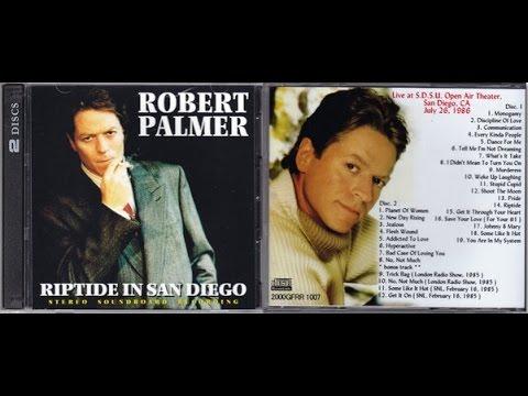 Robert Palmer Live 1986 San Diego