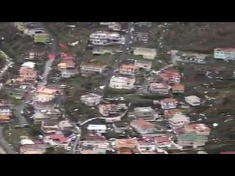 Dominica damage assessment (1) post Hurricane Maria - CDEMA - RSS Flight Tue 20170919