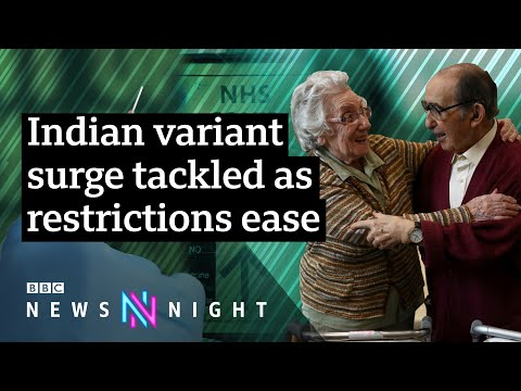 Could new Covid variants delay the UK's path out of lockdown? - BBC Newsnight
