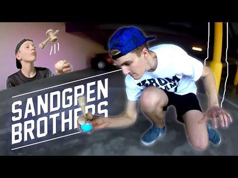 SANDGREN BROTHERS IN SAN DIEGO - KROM KENDAMA