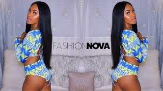 Baddie Fashion Nova Try On Clothing Haul