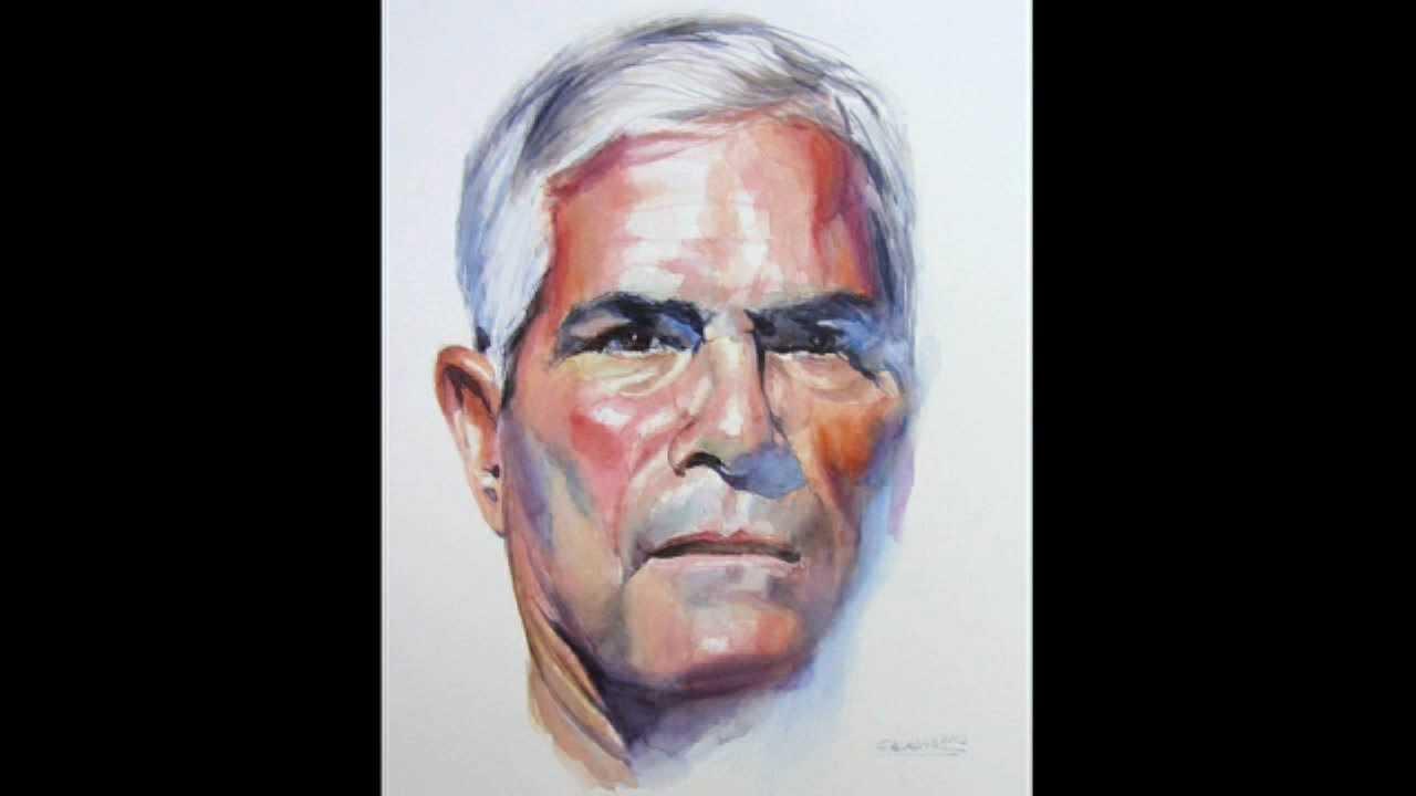 Como pintar un retrato a la acuarela how to paint a - Retrato oleo paso a paso ...