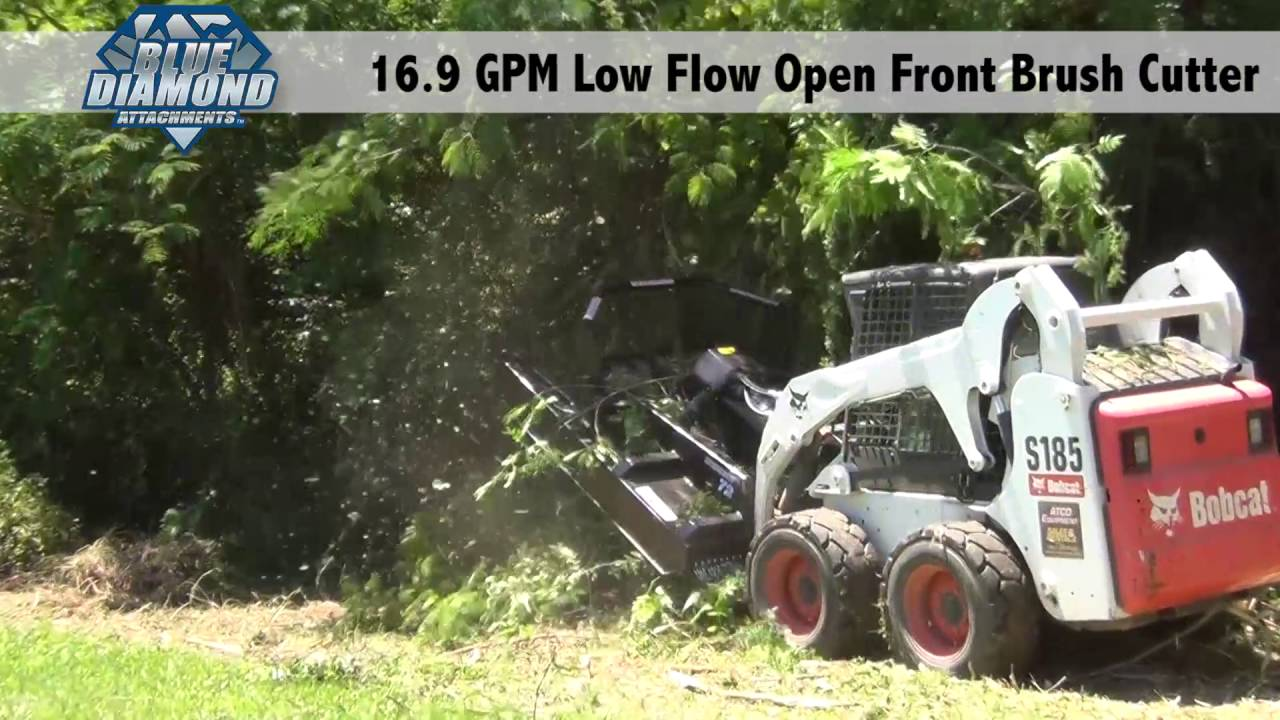 bobcat brush cutter part diagram [ 1280 x 720 Pixel ]