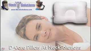 D Core Neck Support Pillow