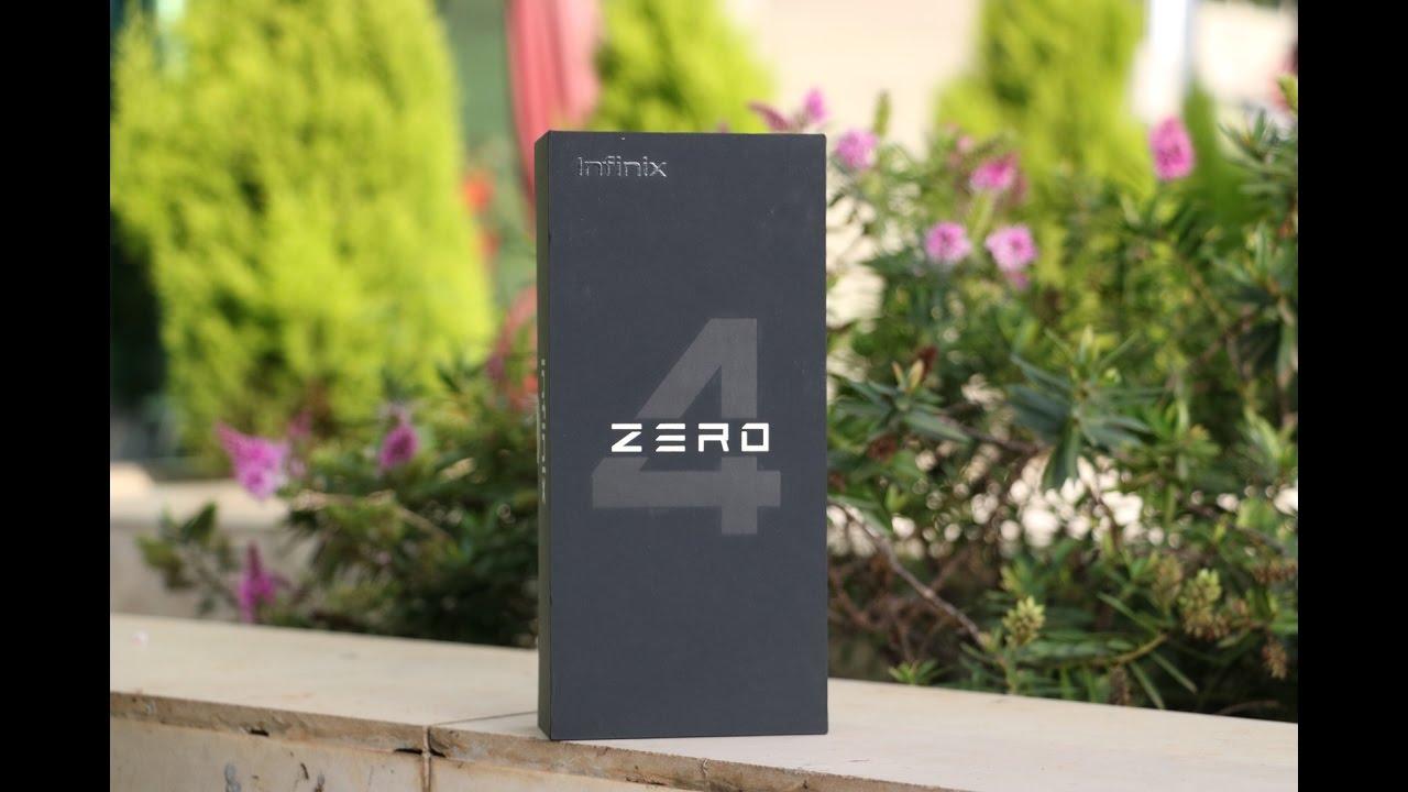 Unboxing the Infinix Zero 4