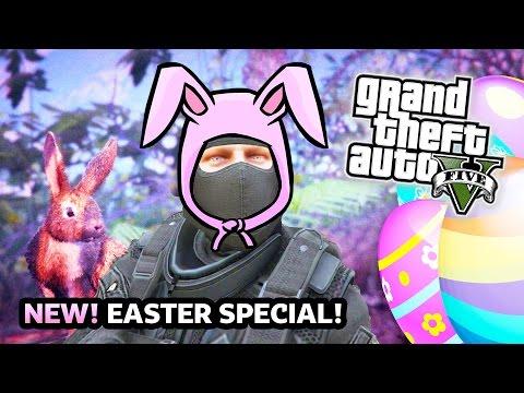 GTA 5 Online EASTER EGG HUNT Special! Epic GTA 5 Mini Games Funny Moments! (GTA 5 PS4 Gameplay)