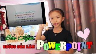 Học làm POWERPOINT với Bảo Ngọc - Bảo Ngọc Official