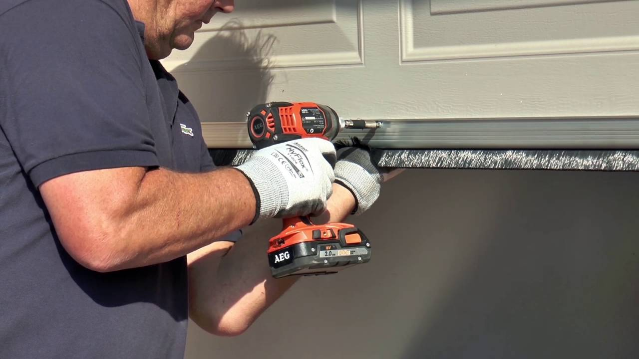 Cleverseal Sectional Garage Door Seals YouTube